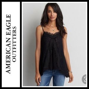 American Eagle Outfitters Lace Panel Cami NWT
